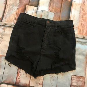 Hollister Ultra High Rise shorts
